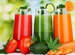 the power of juicing raw cannabis